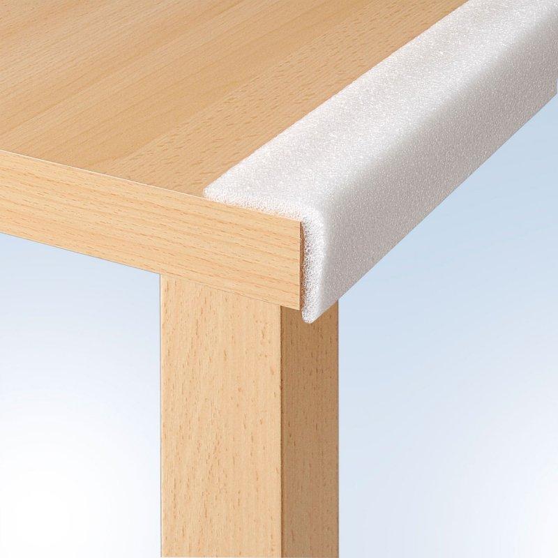ecken und kantenschutz wei 4 st ck 8 50. Black Bedroom Furniture Sets. Home Design Ideas