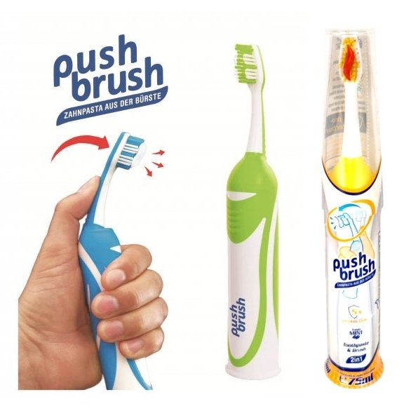 Push Brush 2in1 Zahnbürste
